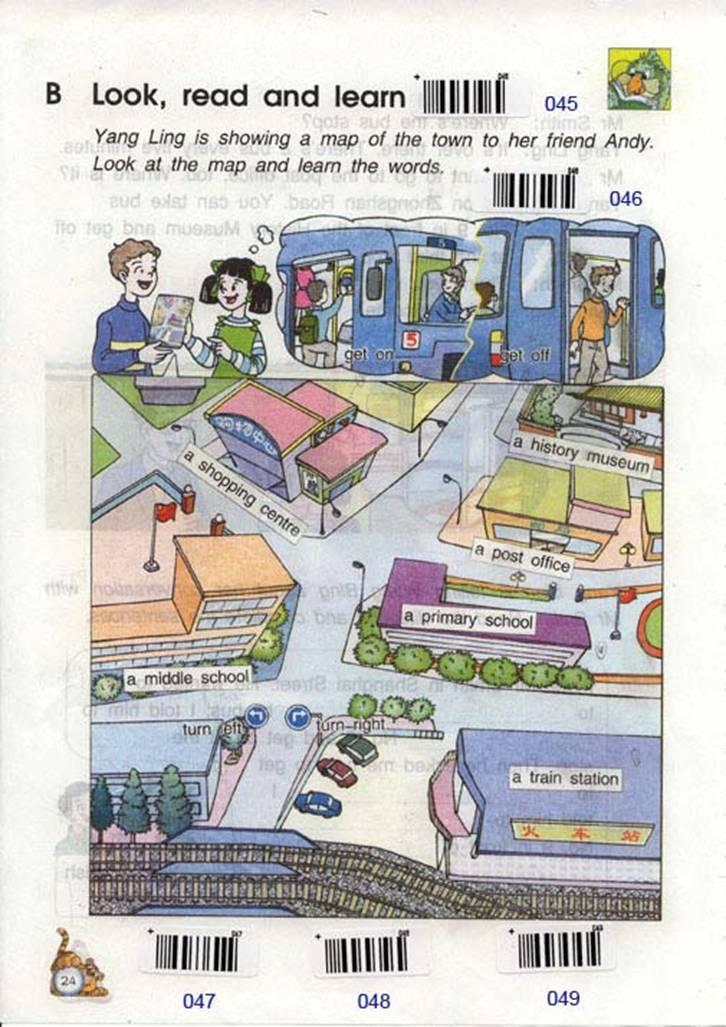 苏教版英语六年级下册课本――unit3 Asking the way
