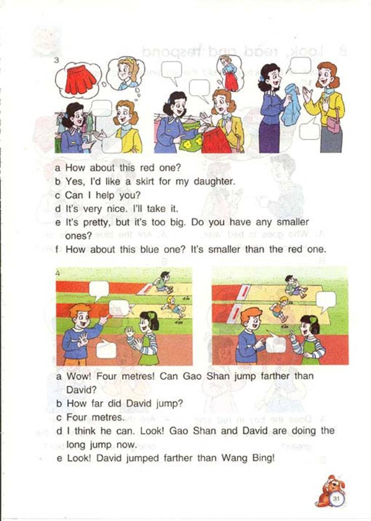 苏教版英语六年级下册课本――unit4 Review and check