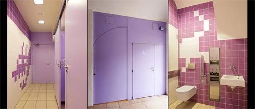 吸引眼球 洗手间设计图赏 1 高清图片