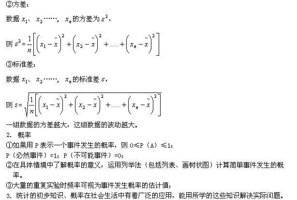 公式美术初中:概率与v公式数学课堂导入初中图片