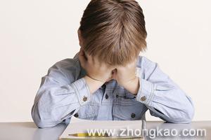 孩子考试焦虑症的表现与对策