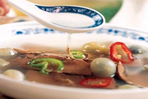 骨汤烩酿豆腐