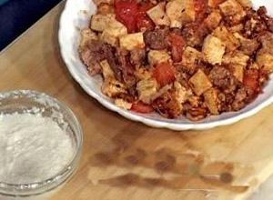 肉末番茄豆腐