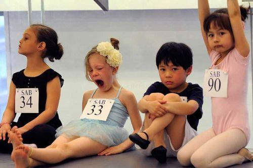 美国小女孩的芭蕾梦