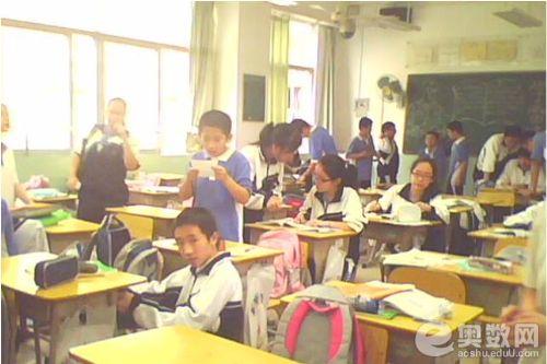 深圳外国语学校初中部学生