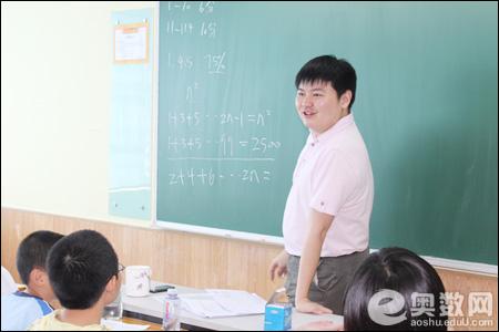 幽默风趣的马江伟老师