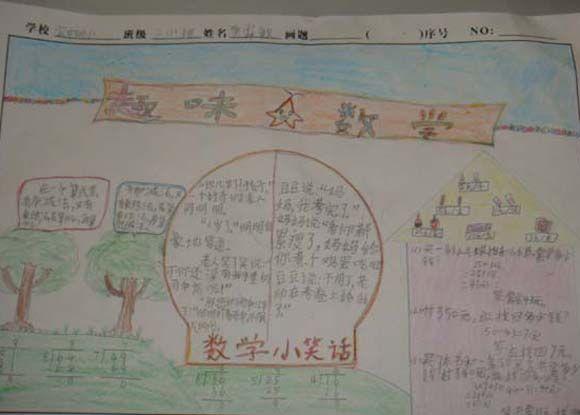 运动会手抄报手绘图片二年级