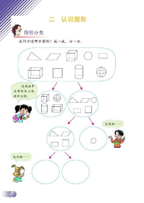北师大版四年级数学下册第二单元 认识图形