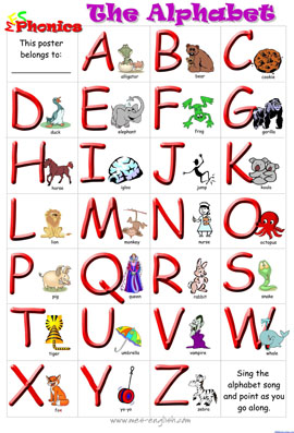 边唱边学:幼儿英文字母儿歌