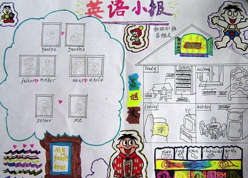 小学英语手抄报:英语小报