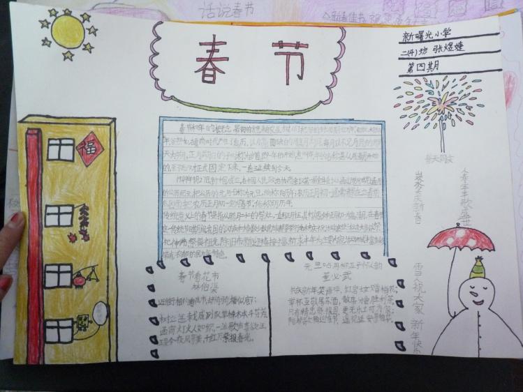 手抄報版面設計邊框圖案   關于楹聯知識的手抄報,楹聯手抄報