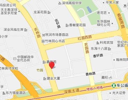 农林路街道地图
