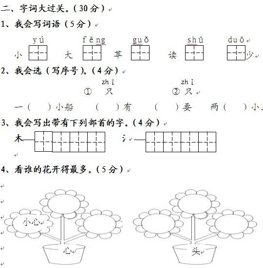 语文阅读结构图