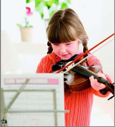 小提琴只要妈妈露笑脸曲谱