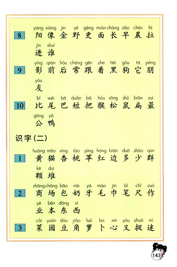 备考期末考试_(人教)一年级语文上册电子课本:生字表一-新东方网_第2页