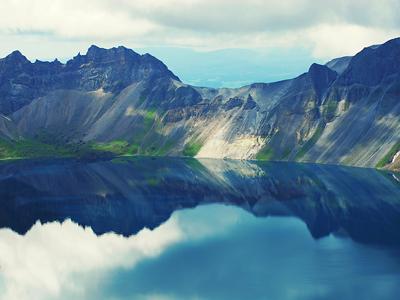 吉林延边长白山风景