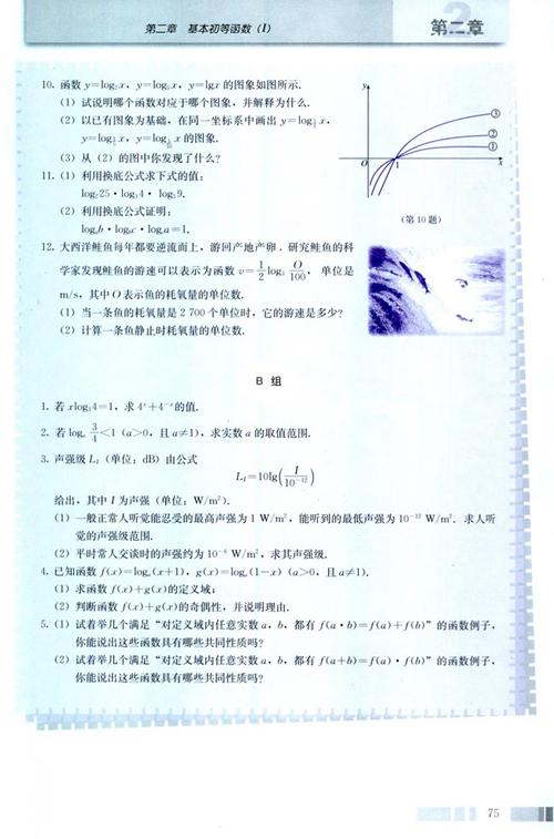高一数学电子课本:高一数学必修1 第二章 习题2.2