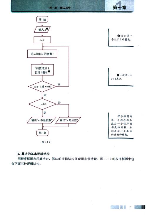 程序框图与算法的基本逻辑结构