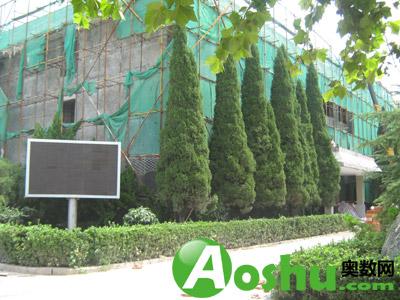 舜耕中学位于济南市中区