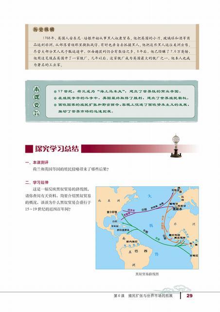 高一历史新课标电子书:殖民扩张