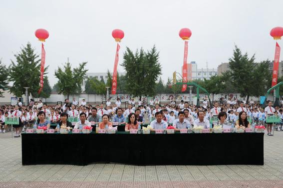 2011年徐州小学新生入学仪式图片