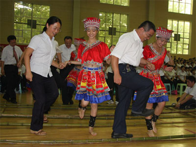 历城二中老师教师节庆祝活动