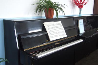 汇文中学音乐教室