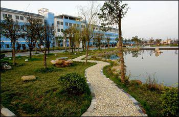 相城实验中学校园美景