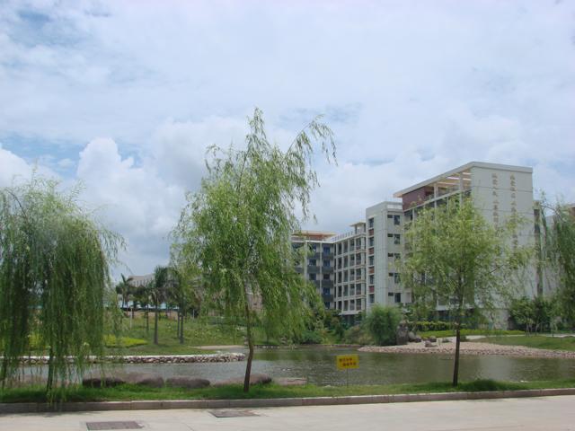 厦门双十中学校园风光(枋湖校区)