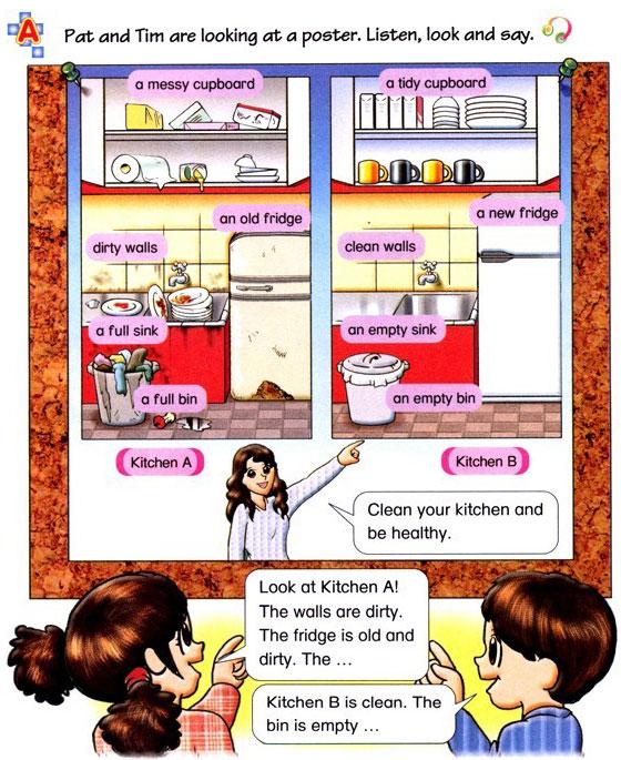 深圳朗文版五年级英语UNIT1 Things in the kitchen_A
