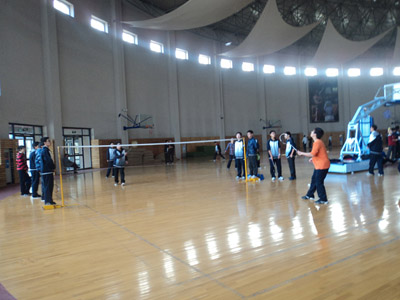 东北育才双语学校羽毛球大赛活动纪实