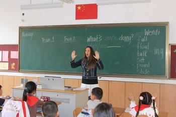 来自美国的女老师微笑天使Wendi