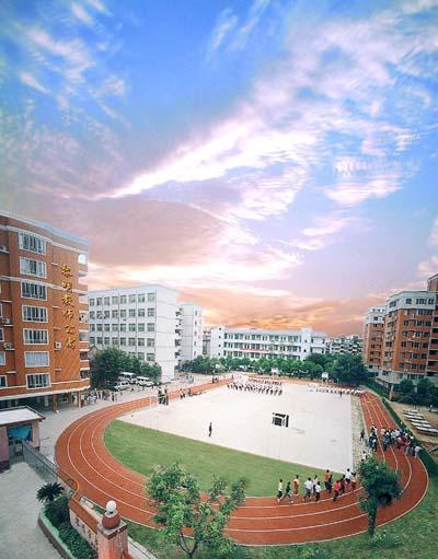福州黎明校园中学环境景观_福州奥数网高中生适合长篇阅读的英语图片