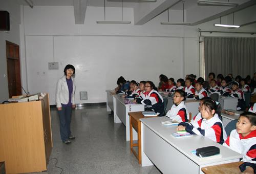 大连21中学老师展示课