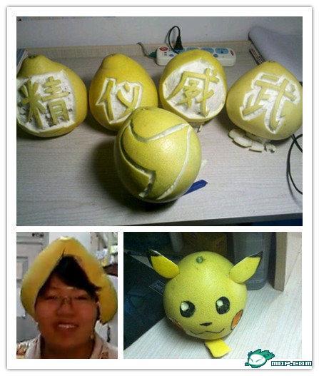 可爱的柚子们 天津大学学生创意生活