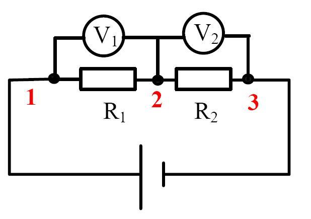 初中物理电路图识别详解——简化电路图(5)