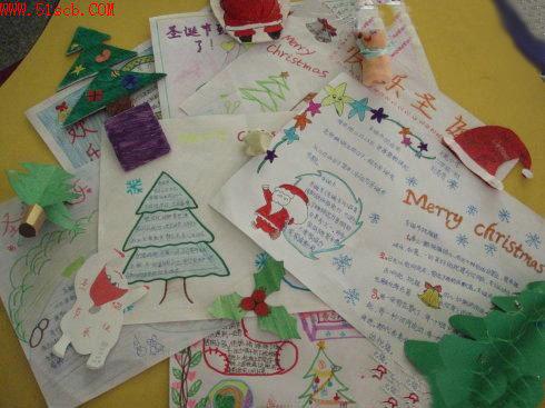 2011圣诞节英语手抄报欣赏 7