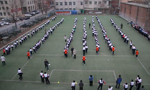 大连21中学运动长跑