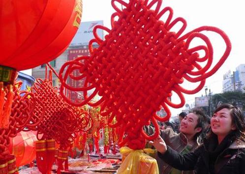 中国春节习俗_春节习俗组图——中国结_作文网