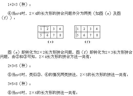 四年级奥数知识点:数学竞赛试题选讲