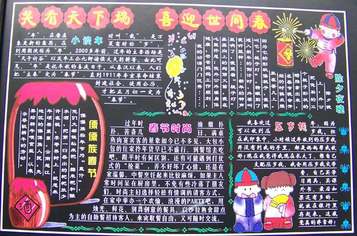 摘要:重庆奥数网小编为大家搜集的2012年关于元宵节黑板报,祝培元小学图片