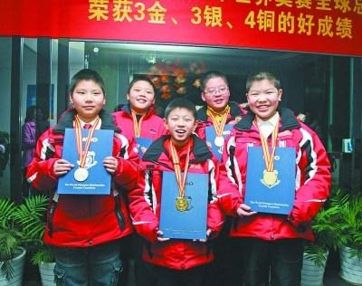 2012年世奥赛全球总决赛部分获奖选手