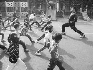 幼儿园为增阳刚气租男老师