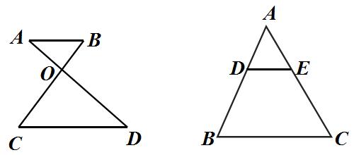 沙漏與金字塔模型(相似三角形)圖片