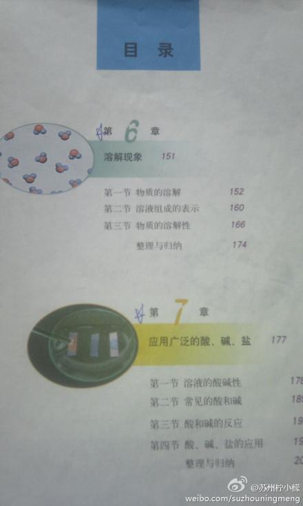 2012年苏州中考化学考试重点