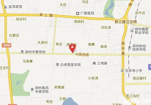 郑州各重点中学交通路线图及乘车方式汇总图片