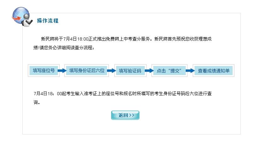新民网2012上海中考查分平台