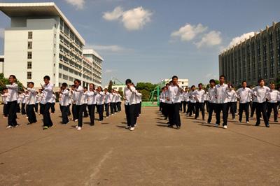 惠贞书院2012级新生军训