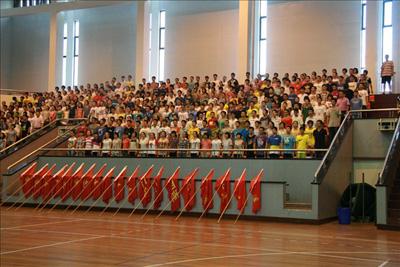 镇海中学2012级新生军训