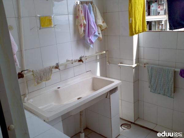 卫生间洗衣池装修效果图